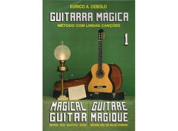 Livros de guitarra Eurico A. Cebolo Guitarra Mágica 1