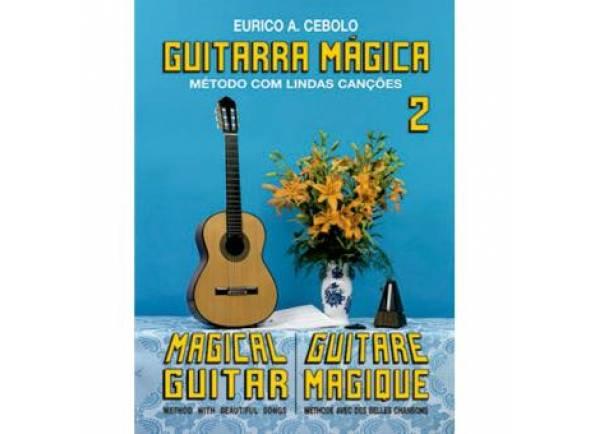 Livros de guitarra Eurico A. Cebolo Guitarra Mágica 2