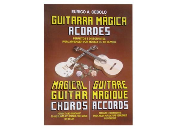 Livros de guitarra Eurico A. Cebolo Guitarra Mágica Acordes
