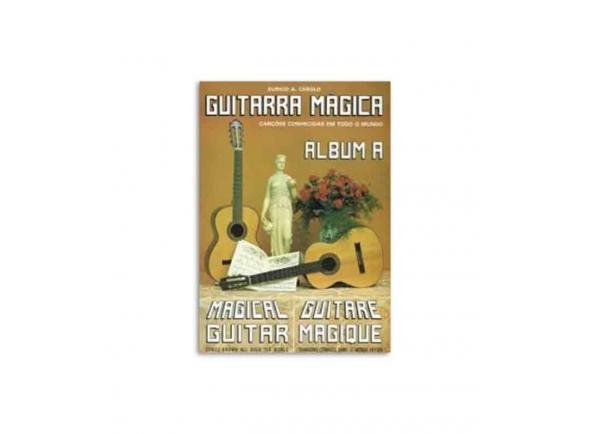 Livro de canções Eurico A. Cebolo Guitarra Magica Album A