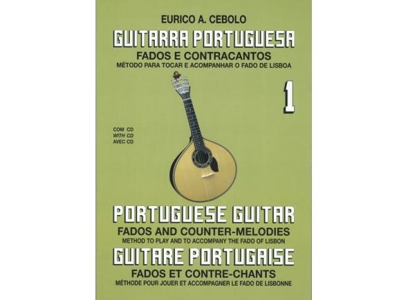 Livros de guitarra Eurico A. Cebolo Guitarra Portuguesa 1