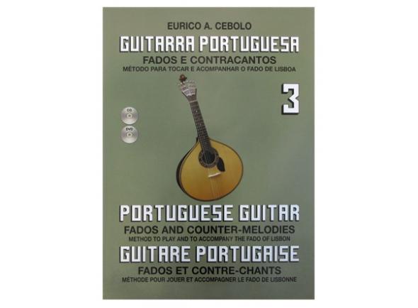Livros de guitarra Eurico A. Cebolo Guitarra Portuguesa 3