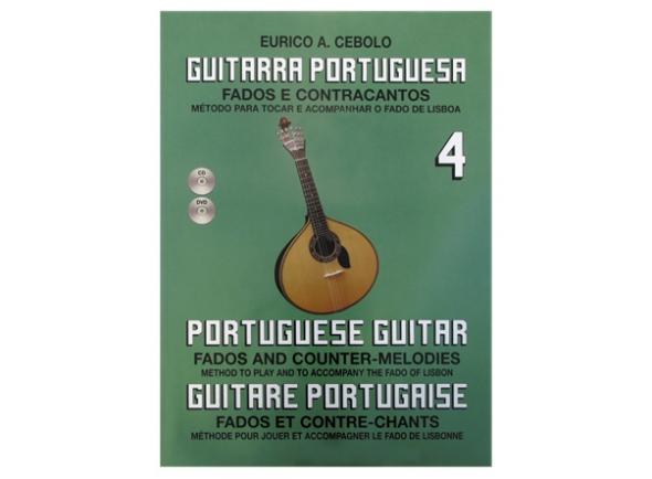 Livros de guitarra Eurico A. Cebolo Guitarra Portuguesa 4