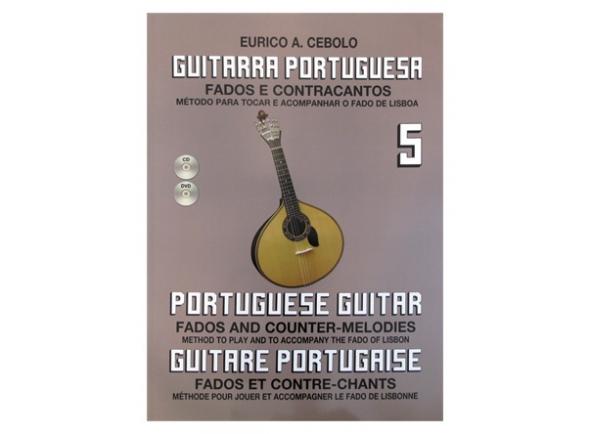 Livros de guitarra Eurico A. Cebolo Guitarra Portuguesa 5