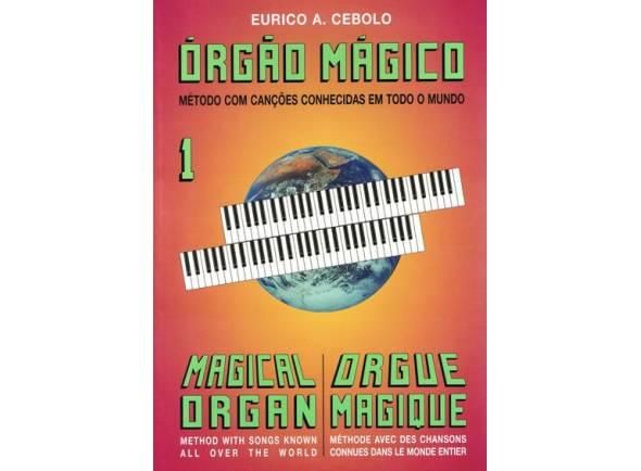 Livros de piano Eurico A. Cebolo Orgão Mágico 1