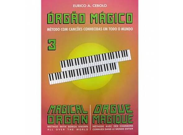 Livros de teclado Eurico A. Cebolo Orgão Mágico 3