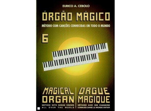 Livros de piano Eurico A. Cebolo Orgão Mágico 6