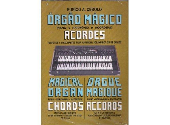 Livros de piano Eurico A. Cebolo Orgão Mágico Acordes