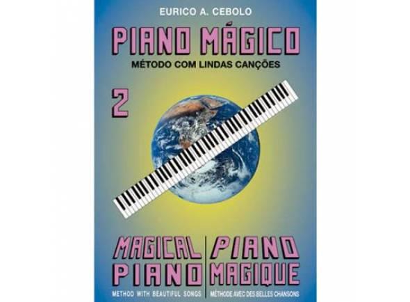 Livros de piano Eurico A. Cebolo Piano Mágico 2