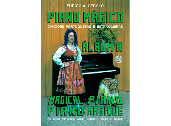 Libros de piano Eurico A. Cebolo Piano Mágico - Álbum A