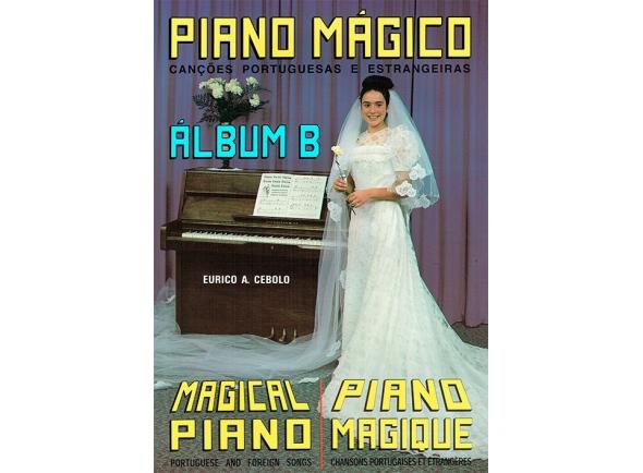 Livros de piano Eurico A. Cebolo Piano Mágico - Álbum B