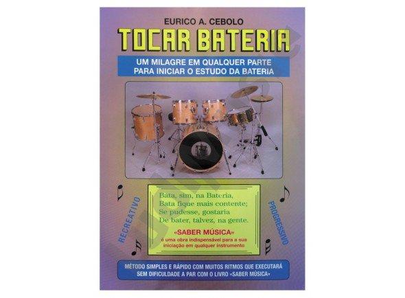 Livros de bateria Eurico A. Cebolo Tocar Bateria com CD