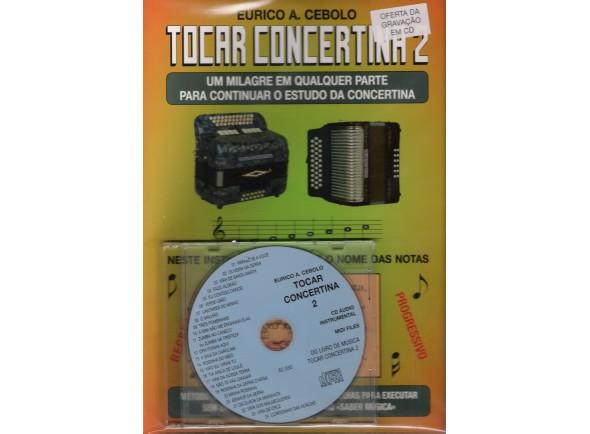 Livros de concertina Eurico A. Cebolo Tocar Concertina 2 com CD