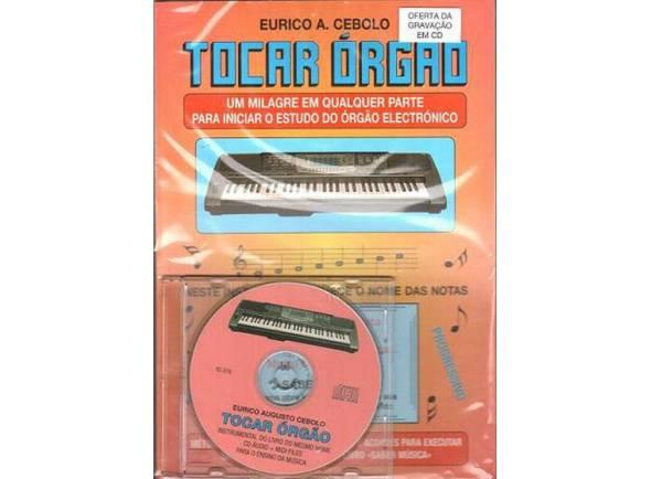 Livros de teclado Eurico A. Cebolo Tocar Órgão com CD