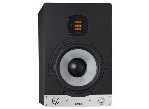 EVE Audio SC208 B-Stock   EVE Audio SC208  Frequência de resposta: 36 Hz – 21 kHz  Nível de pressão sonora máximo (@ 1m): 112 dB  Potência eléctrica: 200W  Dimensões (Largura x Altura x Profundidade): 255 x 390 x 330 mm  Peso: 10,9 kg