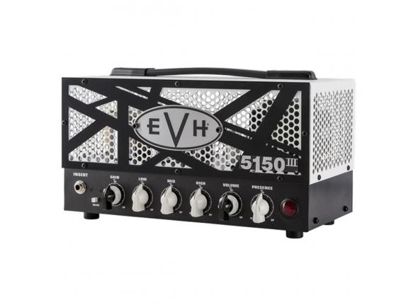 Cabeças de Guitarra Eléctrica a Válvulas Evh 5150 III 15W LBXII Top