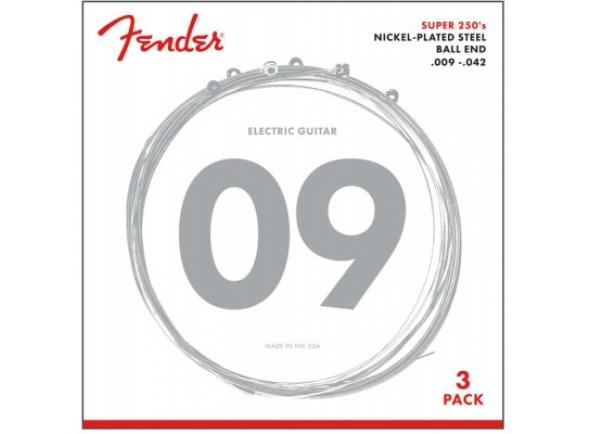 Fender 250L-3-packs Guitar Strings .009-.042