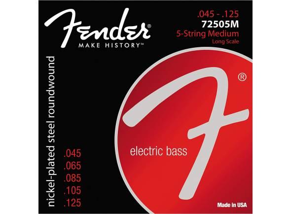 Jogos de cordas para baixo elétrico Fender 7250/5-M