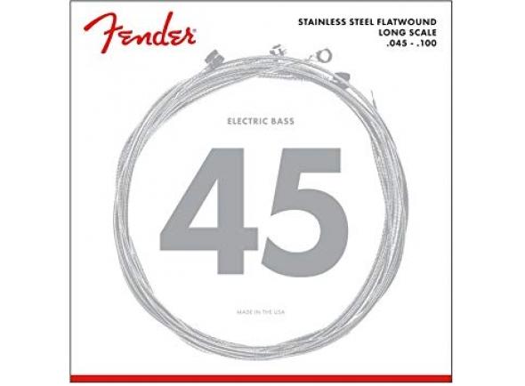 Jogo de cordas .045 para baixo elétrico de 4 cordas Fender 9050L