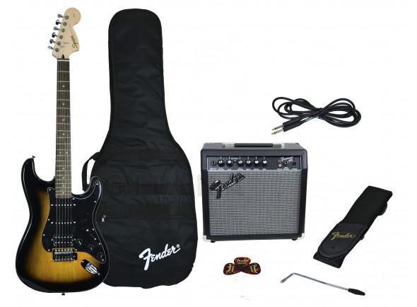Packs de guitarra  Fender Affinity Strat Pack HSS Brown Sunburst B-Stock