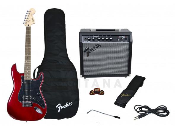 Packs de guitarra  Fender Affinity Strat Pack HSS Candy Apple Red B-Stock