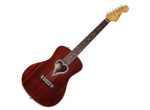 Outras guitarras acústicas Fender Alkaline Trio Malibu