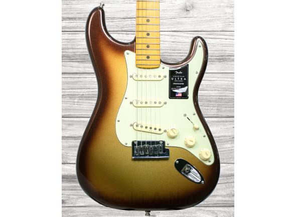 Guitarras formato ST Fender American Ultra Strat MN Mocha Burst