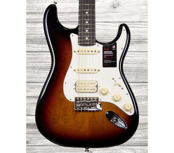 Guitarras formato ST Fender American Perf Stratocaster HSS RW 3-Color Sunburst