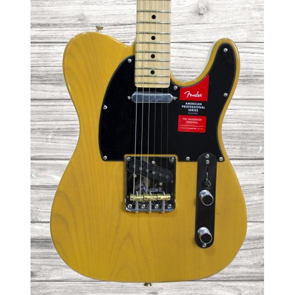 Guitarras formato T Fender American PRO Telecaster MN Butterscotch Blonde