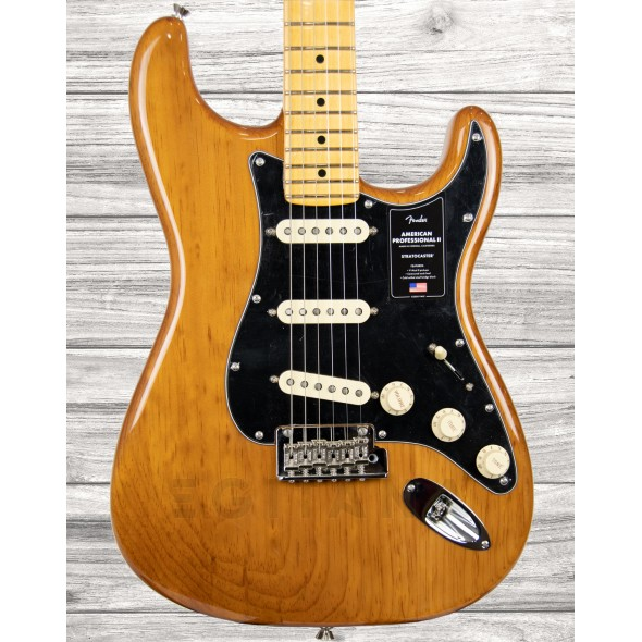 Guitarras formato ST Fender American Professional II Stratocaster MN Roasted Pine