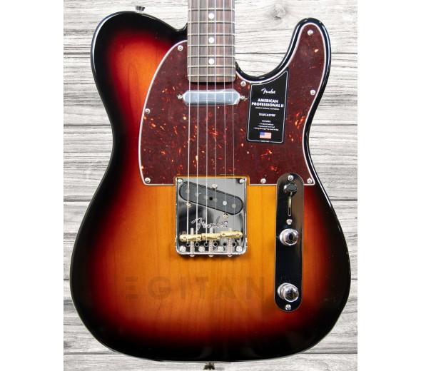 Guitarras formato T Fender American Professional II Telecaster RW 3-Color Sunburst