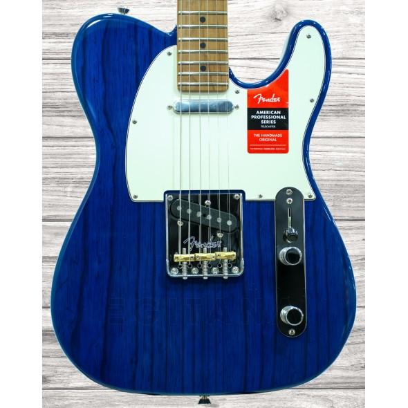 Guitarras formato T Fender American Proffesional Telecaster MN Sapphire Blue LTD