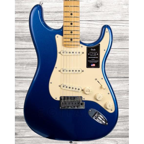 Guitarras formato ST Fender American Ultra Cobra Blue