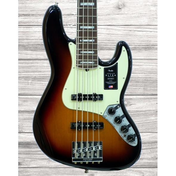 Fender American Ultra J Bass V RW UltrBurst