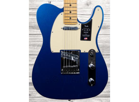 Guitarras formato T Fender American Ultra Tele MN Cobra Blue
