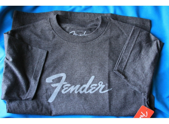 Fender Logo Carvão, S