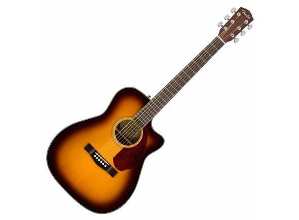 Fender CC-140SCE SB   Inclui Estojo  Corpo estilo Single-Cutaway - Sunburst  Captação Fishman® Presys™ com afinador embutido