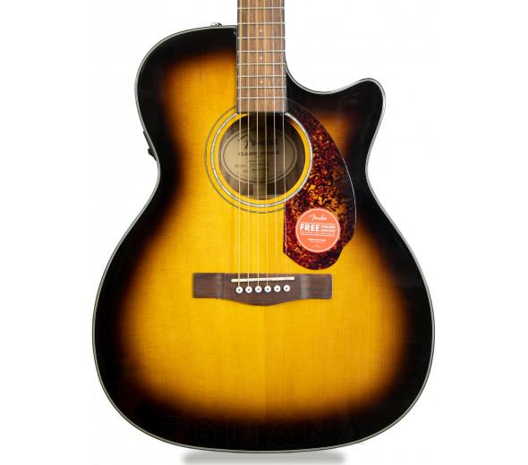 Guitarras Dreadnought Fender CC140SCE Sunburst Com Estojo