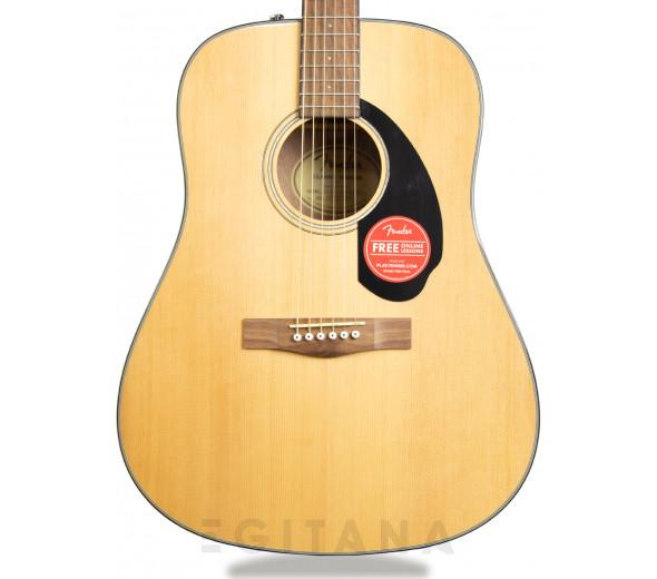 Guitarras Dreadnought Fender CD-60S Dreadnought WN Natural