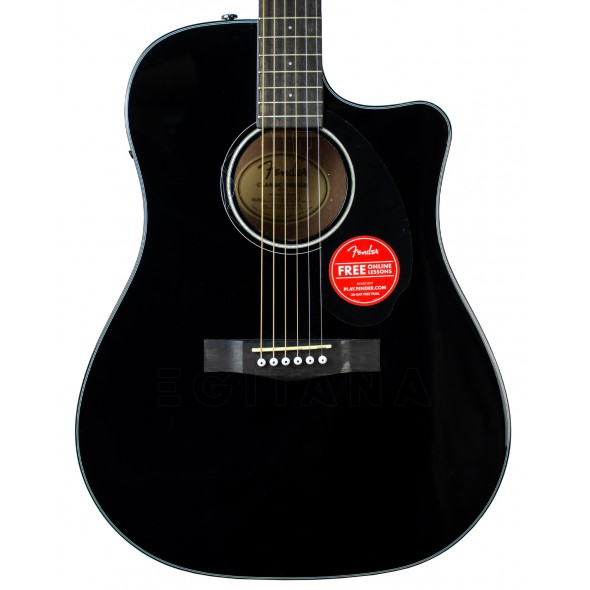 Fender CD-60SCE Blk