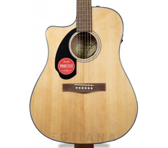 Guitarras acústicas para esquerdinos Fender CD-60SCE Lh Nat
