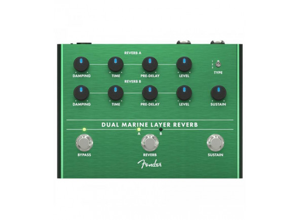 Efeitos reverb e hall Fender Dual Marine Layer Reverb B-Stock