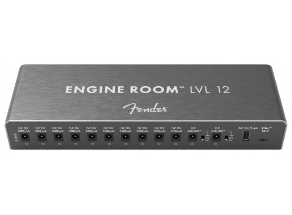 Cabos para efeitos/Alimentação Fender  Engine Room LVL12