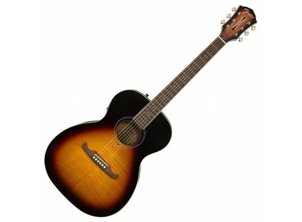 Fender FA-235E Concert 3-tone Sunburst   Fender FA-235E Concert 3-tone Sunburst  Ideal para guitarristas devido a built-in Fishman eletrônica.  Laminado Flame Bege Top oferece impressionante ataque Visual & brilhante.  Corpo de mogno laminado prociona calor suave ressonante.  Corpo oferece confortável jogando experiência de concerto.  Detalhes ornamentados oferecem aparência elegante