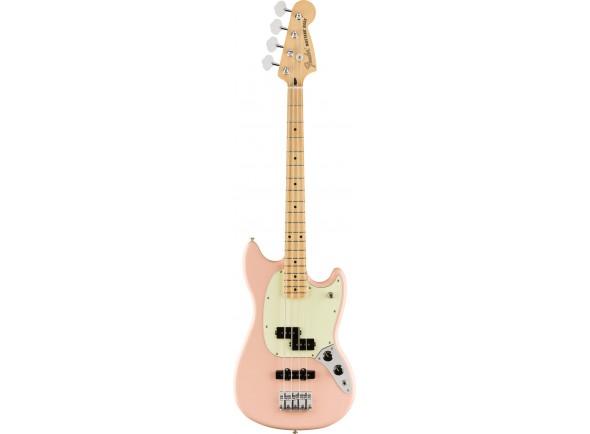 Fender FSR Mustang Bass PJ MN Shell Pink