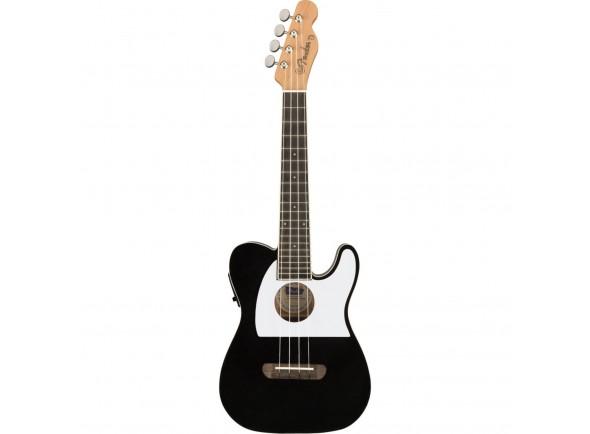 Ukulele Electrificados Fender Fullerton Tele Uku Black