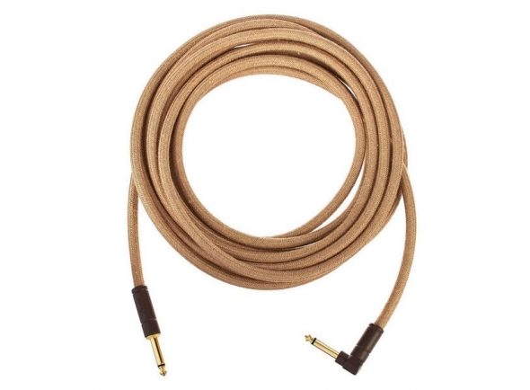 Cabo para Instrumento Fender FV Series Cable Pure Hemp NAT Jack 3m