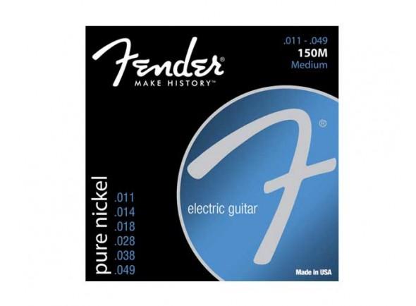 Fender Jogo de Cordas 011 Guitarra Elétrica 150M Ball End  Jogo de Cordas 011 para Guitarra Elétrica Fender 150M Ball End 011049