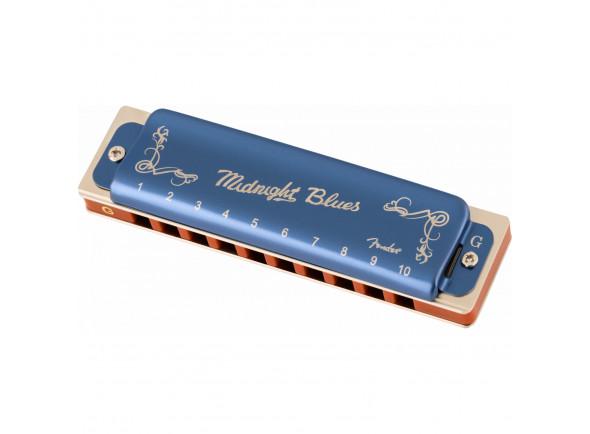 Harmónica diatónica  Fender  Midnight Blues Armonica Sol