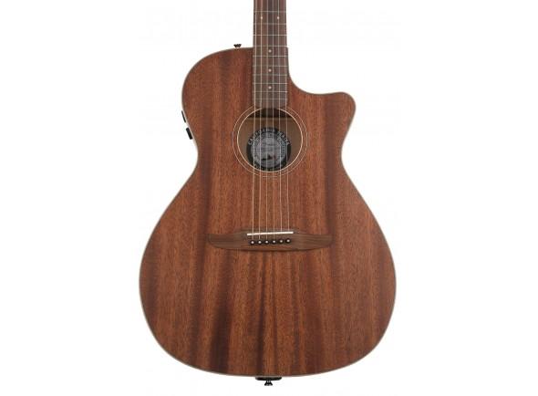Guitarra Acústica Fender Newporter Special MAH w/Bag